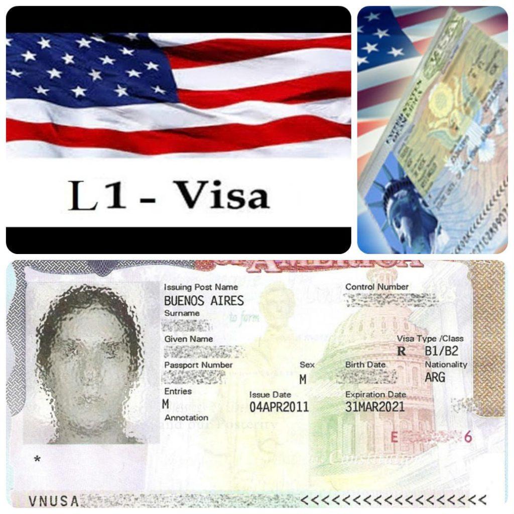 виза для бизнес-иммиграции — L1-A.