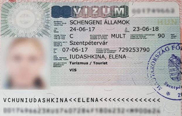 Рабоая виза в Венгрию