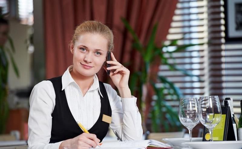 администратор ресторана