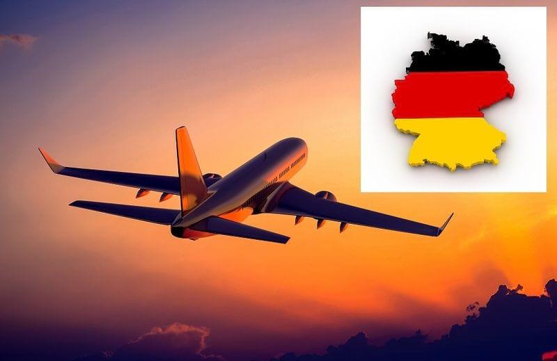 Перелет в Германию