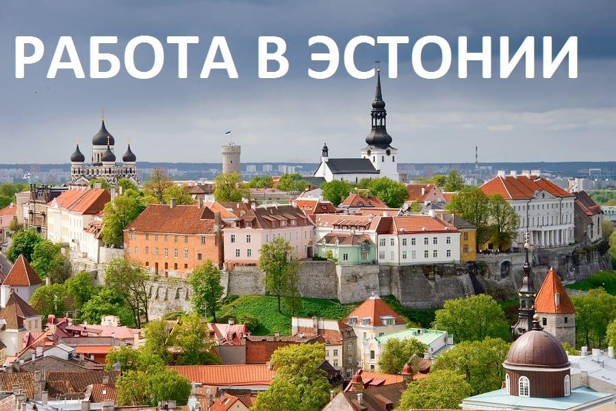трудоустройство в эстонии