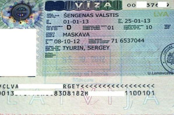 Рабочая виза (тип D)