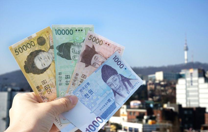 деньги в Южной Корее