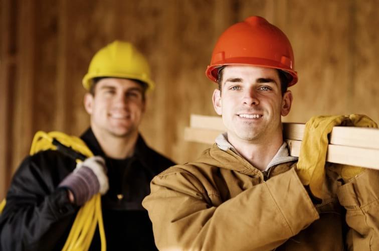 строительные вакансии.