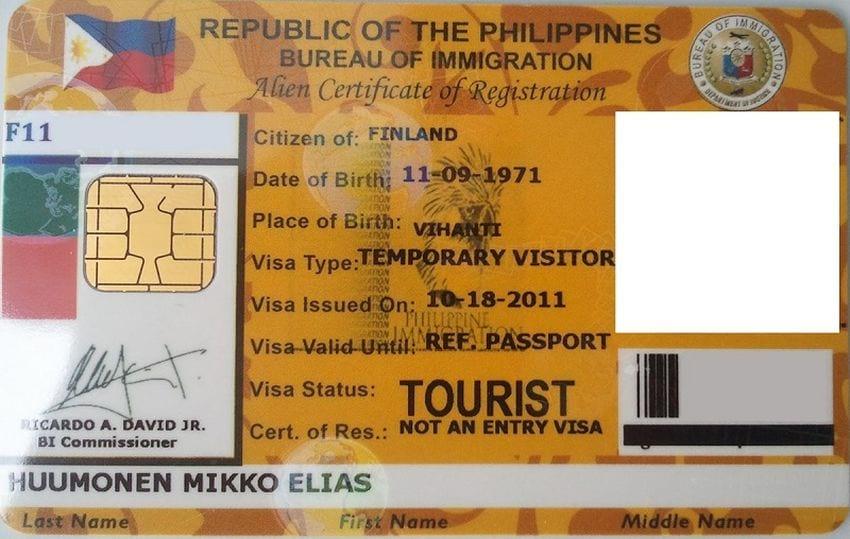 Рабочая виза на Филиппины