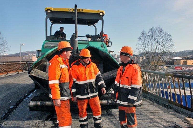 дорожные строители