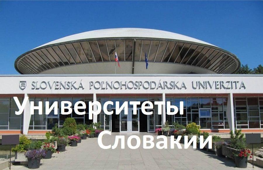 Вуз в Словакии