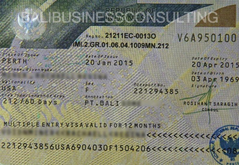 Бизнес-виза на Бали