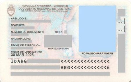 Разрешение на проживание в Аргентине