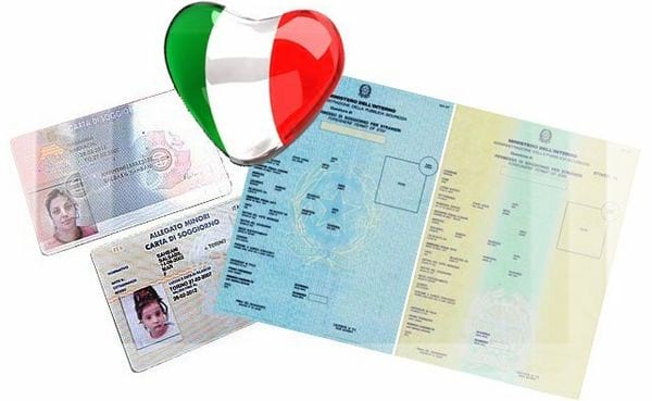 Виды ВНЖ в Италии