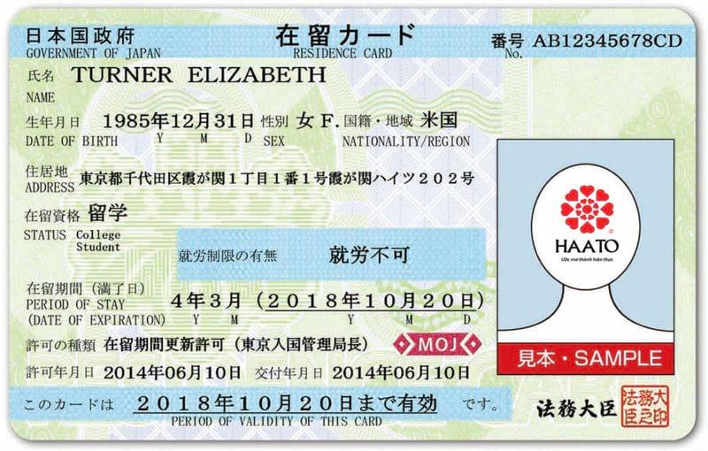 Временная японская виза