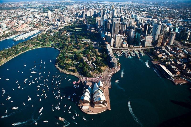 Австралия море