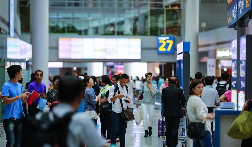 Аэропорт в Корее