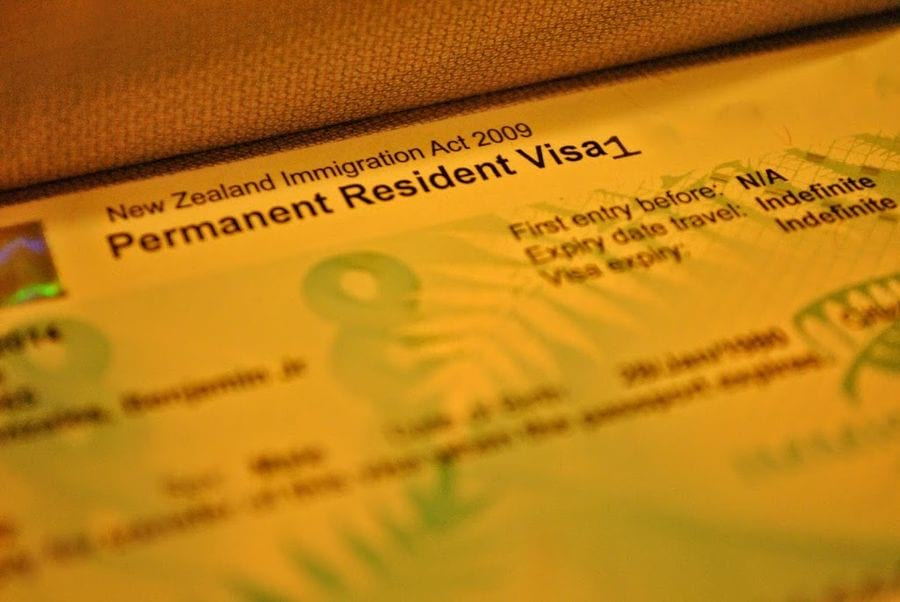 Resident Visa.