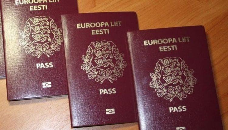 Эстонские паспорта