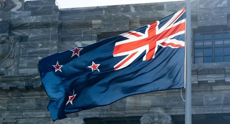 Новозеландский флаг