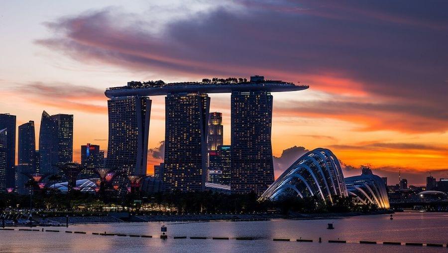Футуристический Сингапур