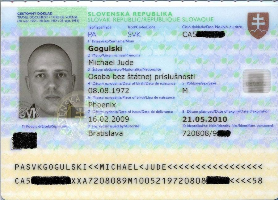 Словацкая виза