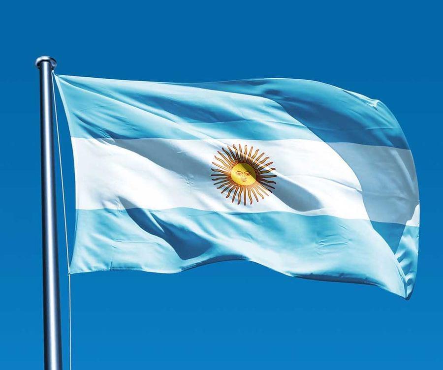 Аргентинский флаг