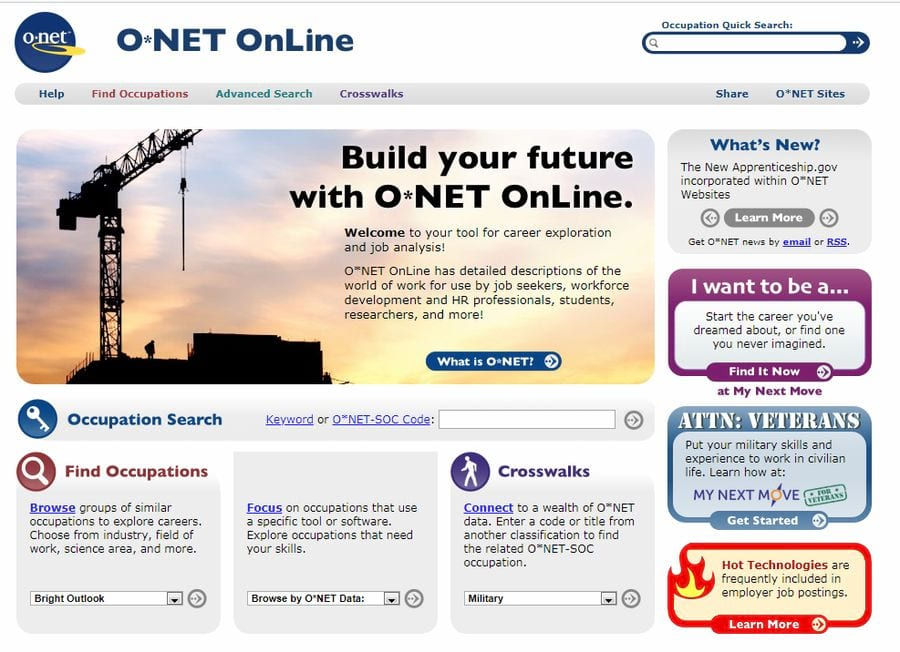 onetonline.org