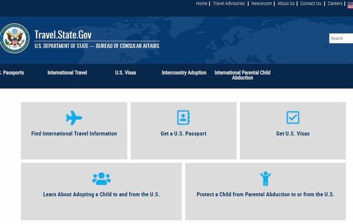 Сайт для заполнения анкеты на гринкарту