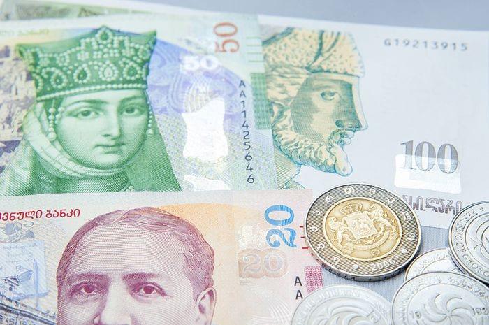 Лари грузинские деньги