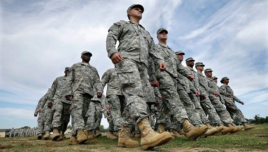 ряд американской армии