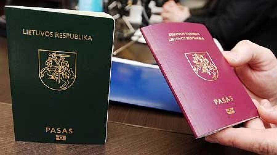 Паспорта Литвы
