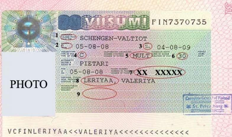 виза-франция