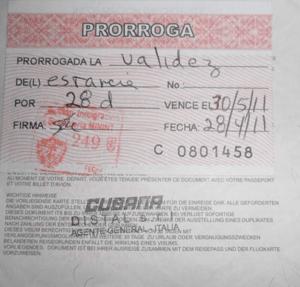 Визовое разрешение