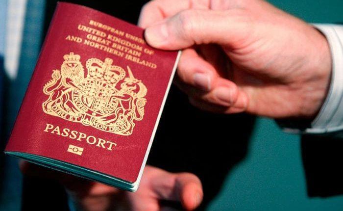 Паспорт Англии