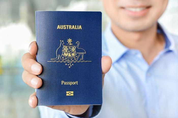 Австралийский паспорт