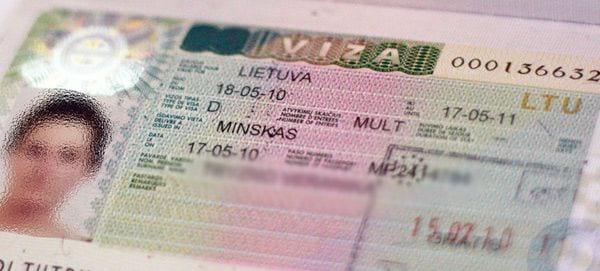 Латвийская виза категории D