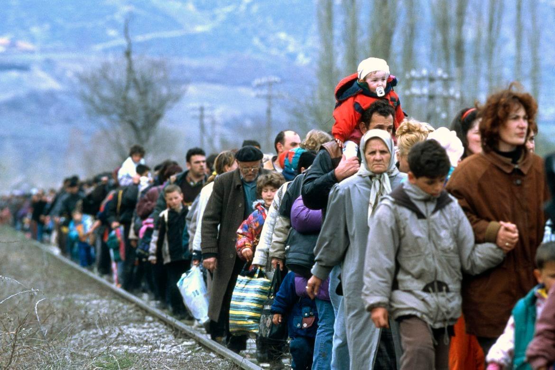 Беженцы с Донбаса