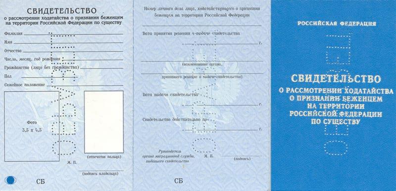 Гражданский паспорт свидетельство