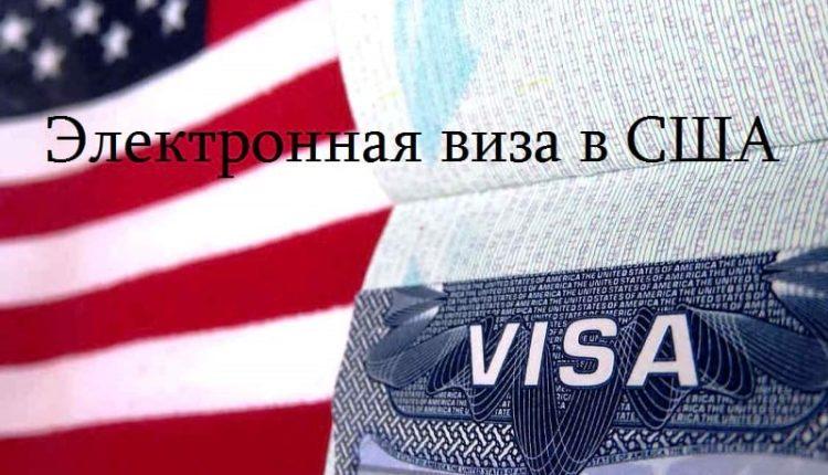 Электронная виза в США