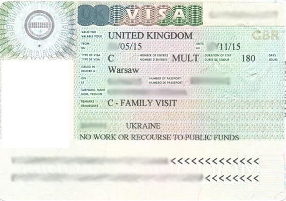 Семейная виза в Великобританию
