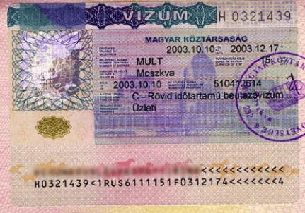 Шенгенская виза для Венгрии