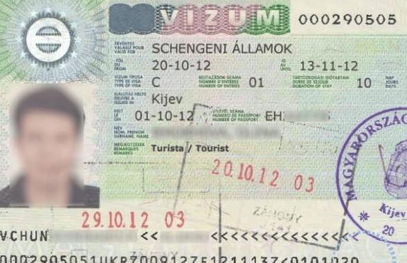 Туристическая виза в Венгрию