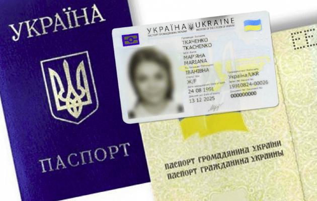Украинский внутренний паспорт
