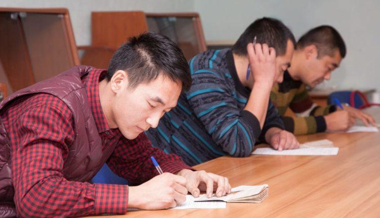 Экзамен для получения временного проживания