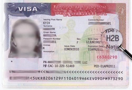 Американская виза категории «Н»