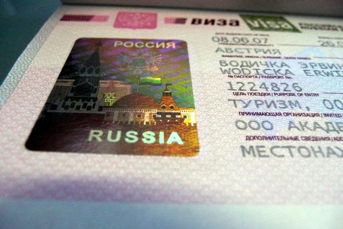 Виды виз в Россию для иностранцев (гражданин РФ)
