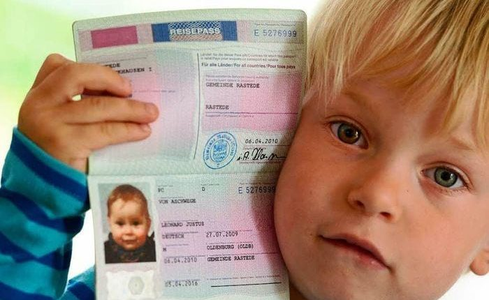 Загранпаспорт ребенка (2)