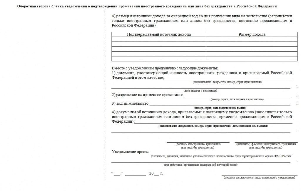 Заявление на продление РВП в России