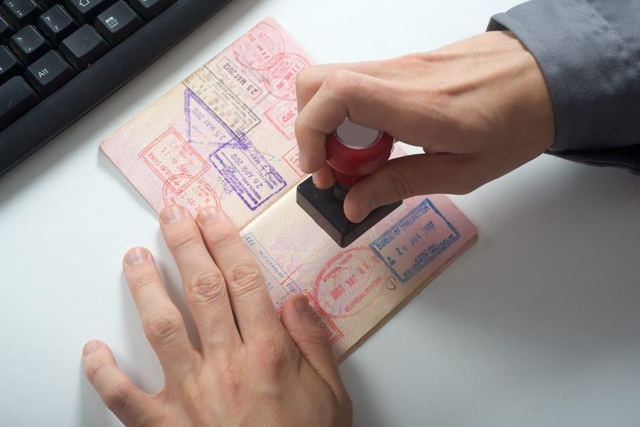 Штамп в паспорт