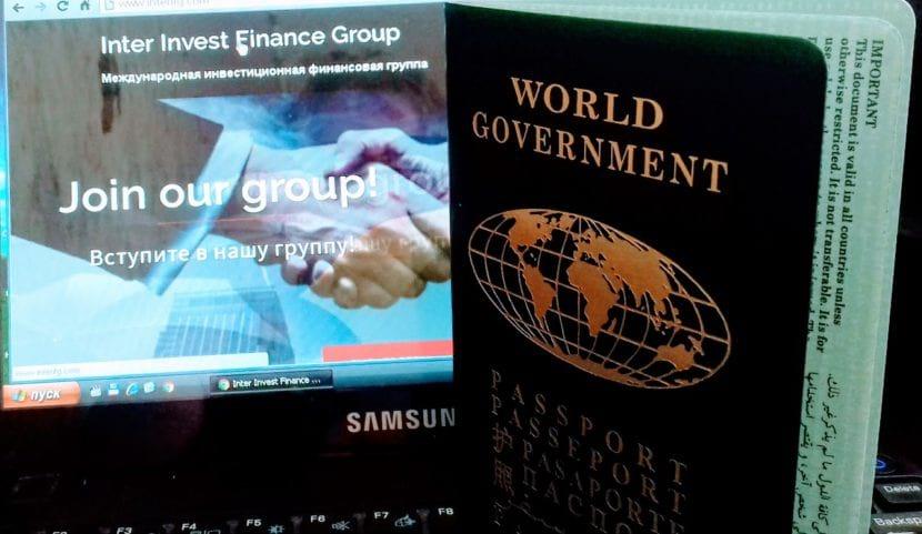 Паспорт мира