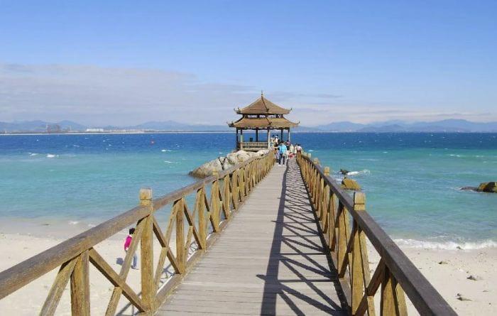 Китай пляж