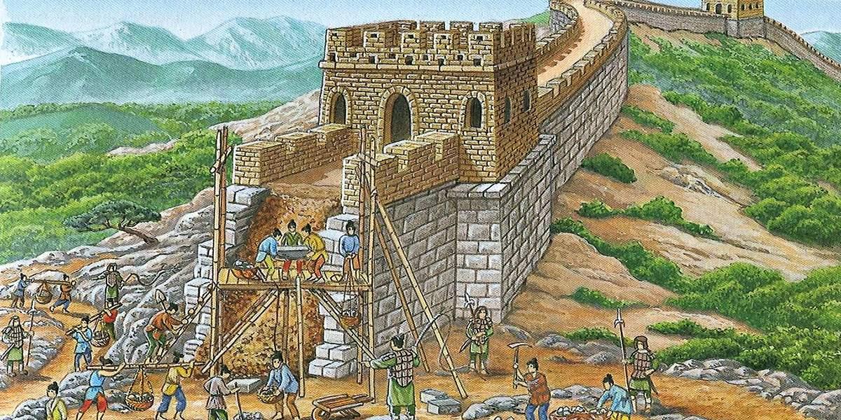 Интересные факты о Великой Китайской стене: кто ее построил на самом деле