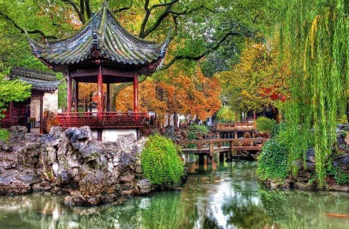 Достопримечательности в Шанхае: храм нефритового Будды и Диснейленд